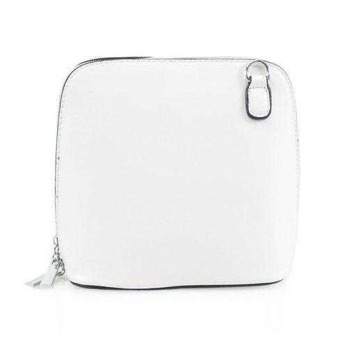 Cross-body Handbag - White