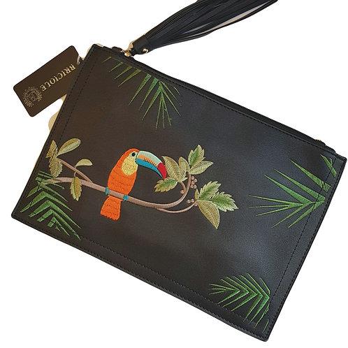 Toucan Clutch/Crossbody Bag