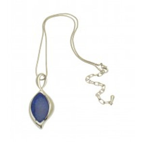 Miss Milly Violet Swan Necklace