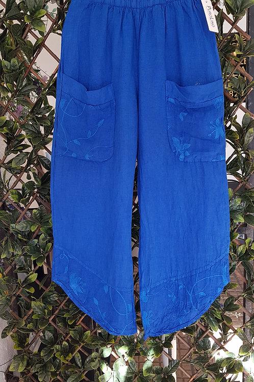 Lotus linen trousers
