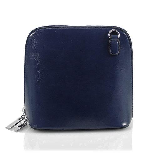 Cross-body Handbag - Deep Blue