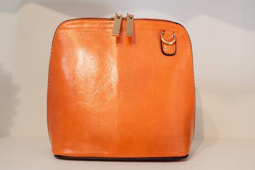 Cross-body Handbag - Orange