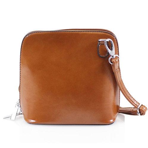 Cross-body Handbag - Brown