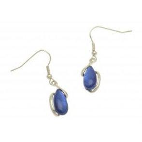Miss Milly Pebble Earrings - Blue