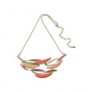 Miss Milly Wave Necklace - Coral