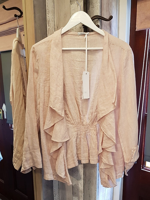 Italian Linen Waterfall Jacket