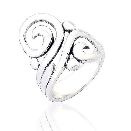 Sterling Silver Maia Ring