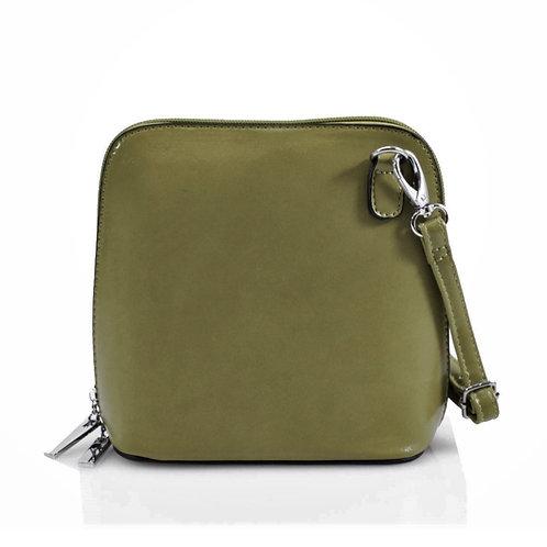Cross-body Handbag - Dark Green