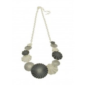 Miss Milly Grey Circle Necklace