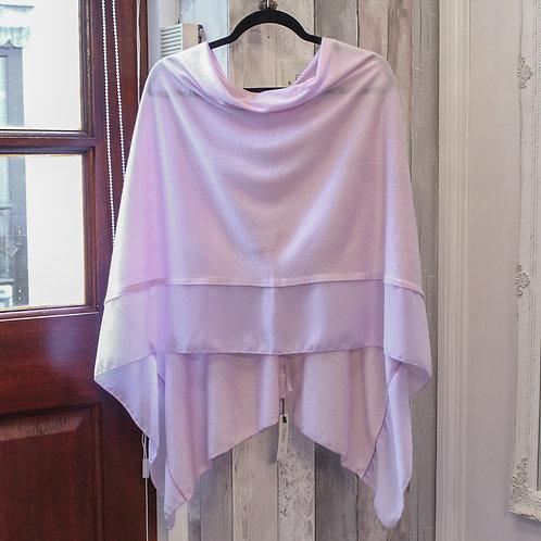 Poncho - Lilac