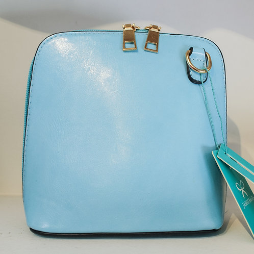 Cross-body Handbag - Baby Blue