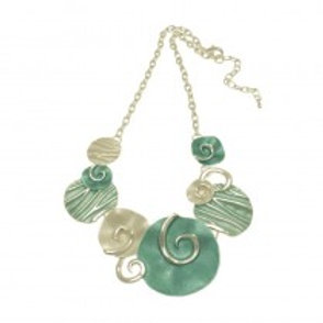 Miss Milly Swirl Necklace