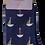 Thumbnail: Sailing Boat Bamboo Socks