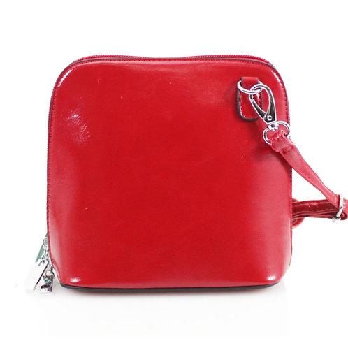 Cross-body Handbag - Red