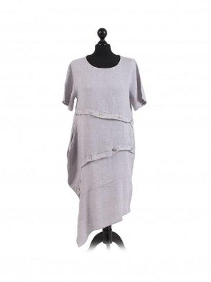 Italian Style Front Panel Dress