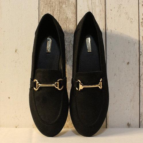 Camilla Black Loafers