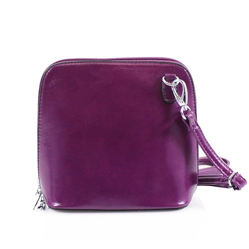 Cross-body Handbag - Purple