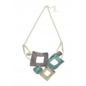 Miss Milly Squared Necklace