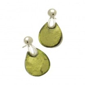 Miss Milly Teardrop Earrings - Lime