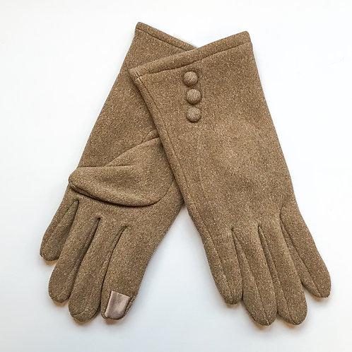 Trio Button Gloves