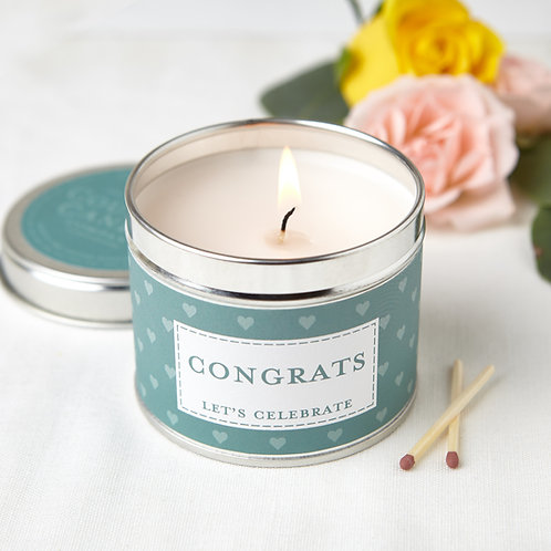 Congrats Candle