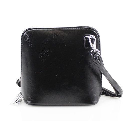Cross-body Handbag - Black