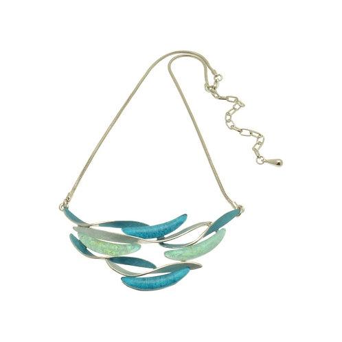 Aqua Wave Necklace