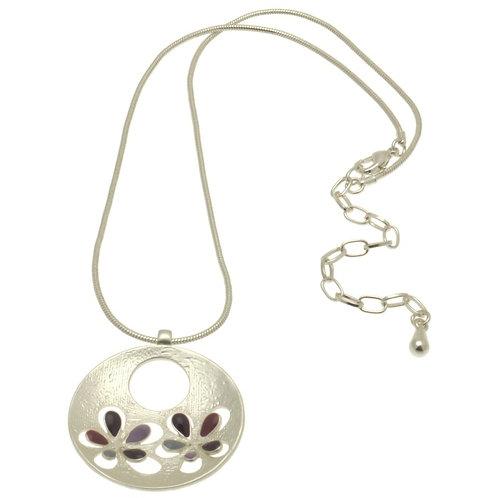 Purple Popout Necklace