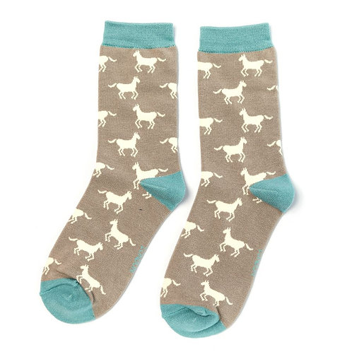 Horse Bamboo Socks