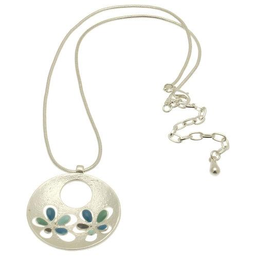 Aqua Popout Necklace