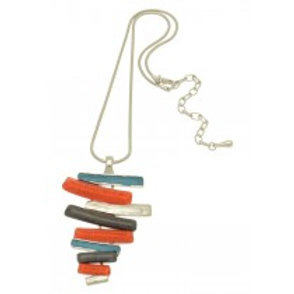 Miss Milly Orange Mix Necklace