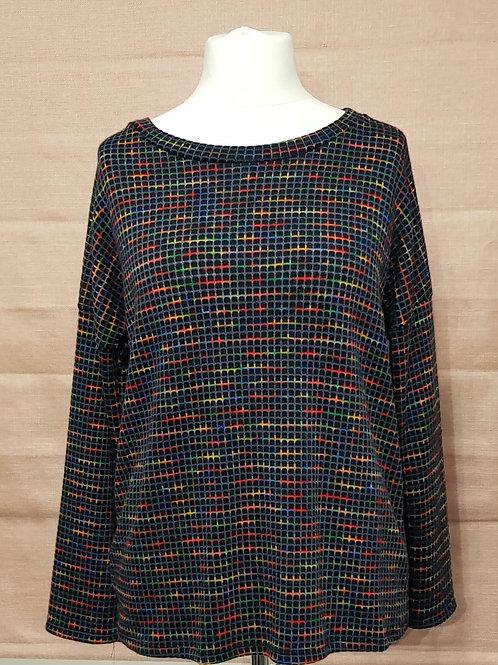Multi colour jumper