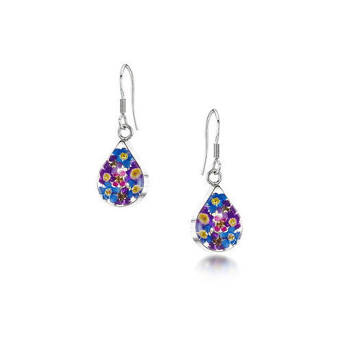 Purple Haze - Teardrop Earrings