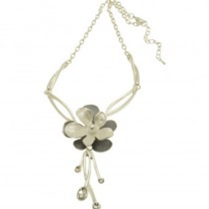 Miss Milly Dual Flower Necklace