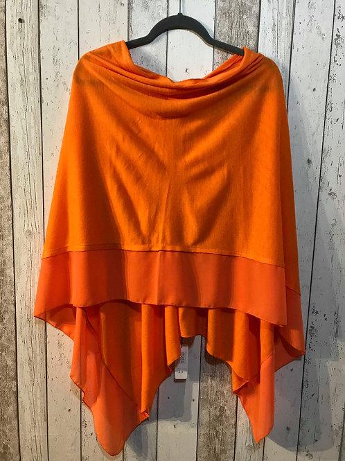 Poncho - Deep Orange