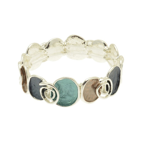 Teal & Navy Pool Bracelet