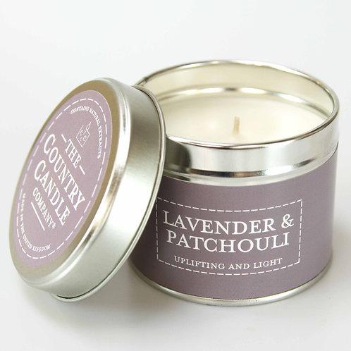 Lavender & Patchouli Candle