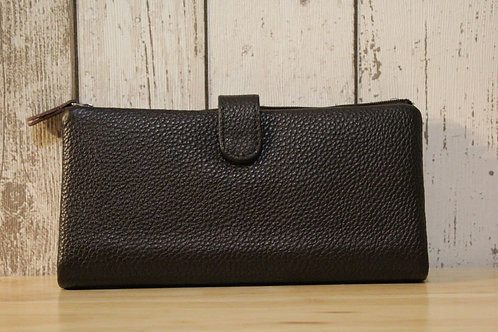Brown Colour Panel Purse