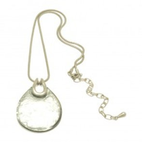 Miss Milly Teardrop Necklace - Silver