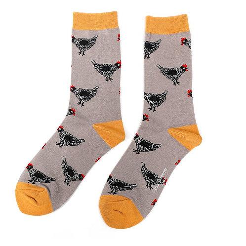 Hen Bamboo Socks