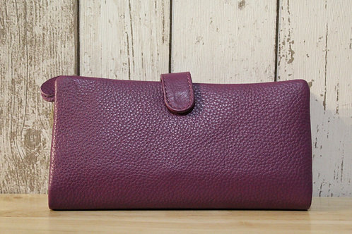 Purple Colour Panel Purse