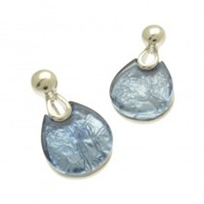 Miss Milly Teardrop Earrings - Grey