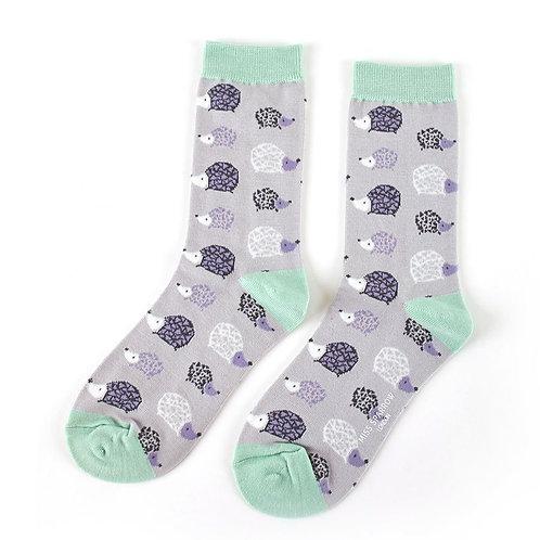 Hedgehog Bamboo Socks