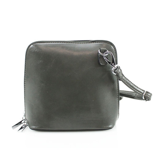 Cross-body Handbag - Grey
