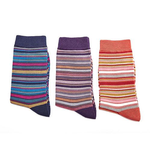 Striped Bamboo Socks
