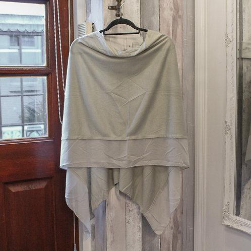 Poncho - Warm Grey