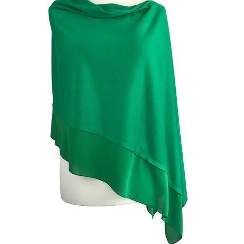 Poncho - Grenada Green