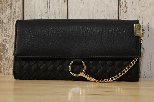 Large Woven Purse - Black