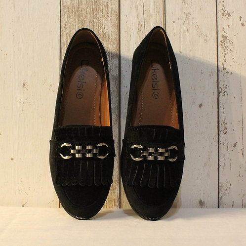 Eliza Black Loafer