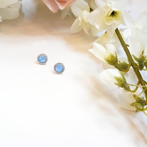 Opalite Stud Earrings